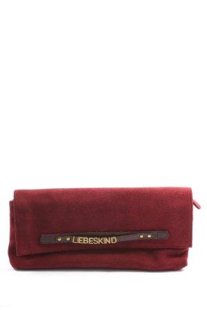 Liebeskind Clutch rood elegant