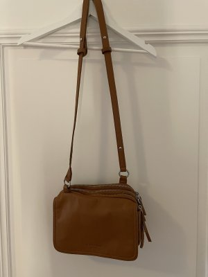 Liebeskind Crossbody bag cognac-coloured-nude leather