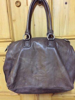 Liebeskind Shopper grey brown leather