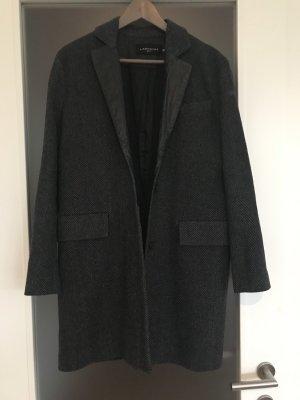 Liebeskind Lange blazer grijs-zwart