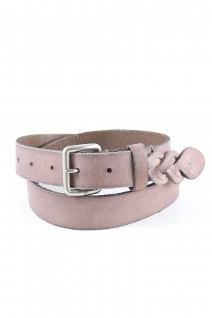 Liebeskind Braided Belt pink casual look