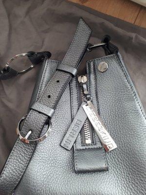 Liebeskind Front Zip S Crossbody Bag silber