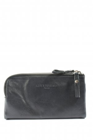 Liebeskind Portemonnee zwart quilten patroon casual uitstraling