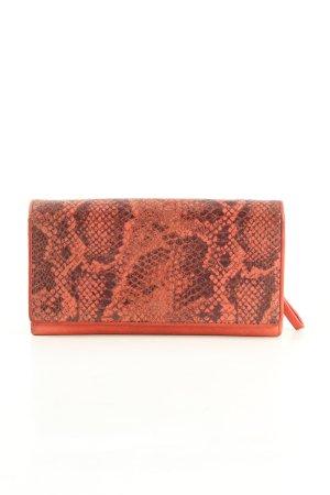 Liebeskind Wallet red-black animal pattern casual look