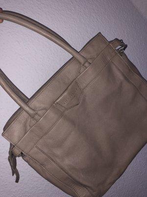 Liebeskind Crossbody bag grey brown leather