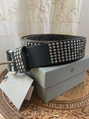 Liebeskind Studded Belt grey-silver-colored