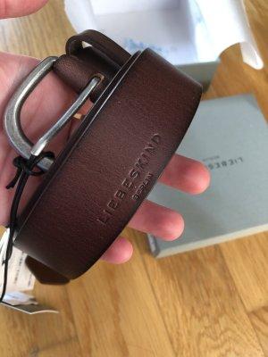 Liebeskind Berlin Cintura di pelle cognac-marrone
