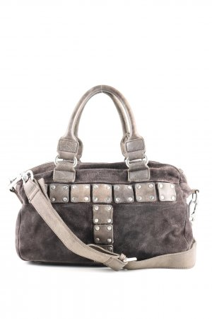 Liebeskind Bolso gris claro look casual