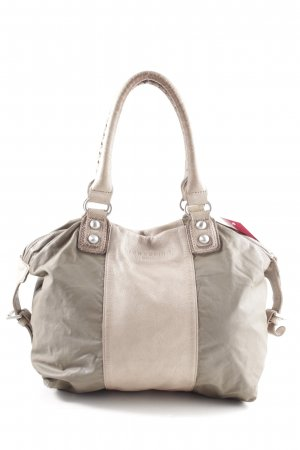 Liebeskind Handbag light grey-natural white business style