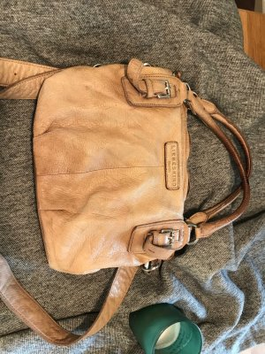 Liebeskind Handbag brown-light brown leather