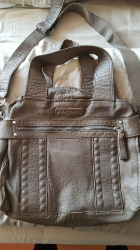 Liebeskind Carry Bag grey brown leather