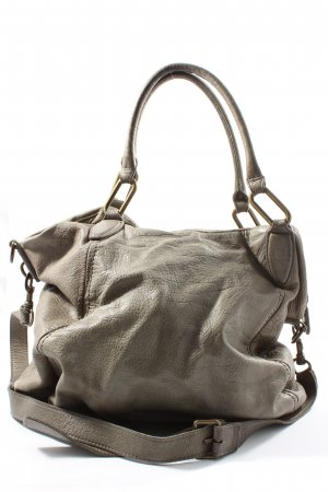 Liebeskind Bolso barrel gris claro look casual