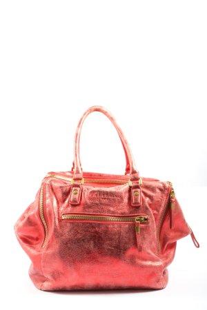 Liebeskind Borsa con manico rosso Stampa a tema stile casual