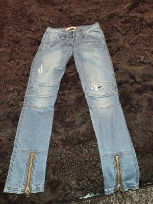 Liebeskind Berlin Biker jeans blauw