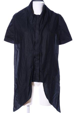 Liebeskind Camicia a maniche corte nero stile professionale