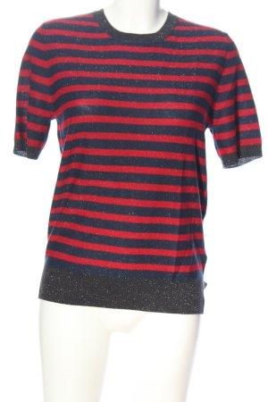 Liebeskind Short Sleeve Sweater striped pattern casual look