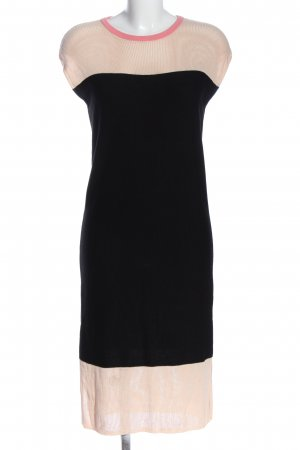 Liebeskind Knitted Dress black-cream casual look