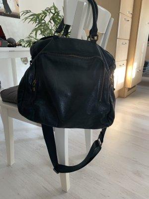Liebeskind Berlin Laptop bag black leather