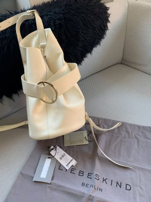 Liebeskind Shopper natural white leather