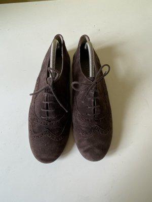Liebeskind Zapatos brogue marrón oscuro