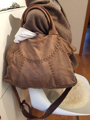 Liebeskind Leder Tasche braun henkeltasche Beutel