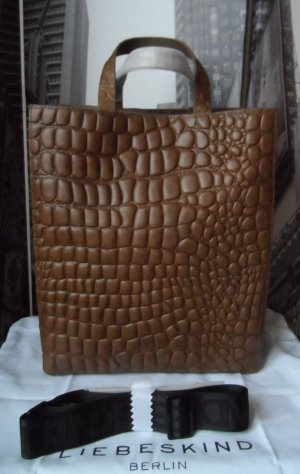 Liebeskind Shopper brown leather