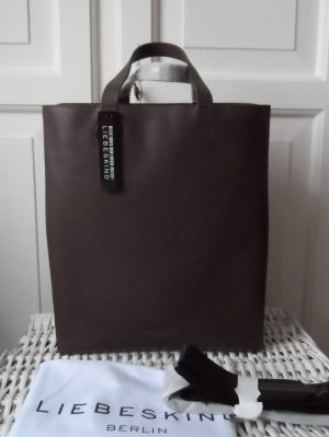 Liebeskind Shopper dark brown leather