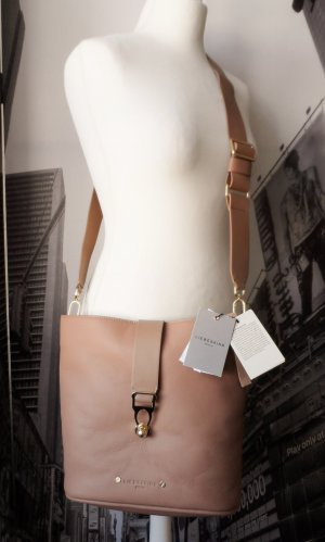 Liebeskind Shoulder Bag beige leather