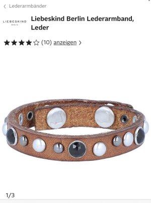 Liebeskind Berlin Lederen armband veelkleurig