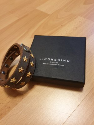 Liebeskind Leather Bracelet brown