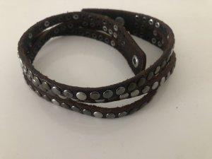 Liebeskind Lederen armband veelkleurig