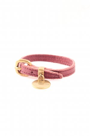Liebeskind Leather Bracelet pink-gold-colored casual look