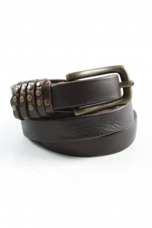 Liebeskind Leather Belt brown business style