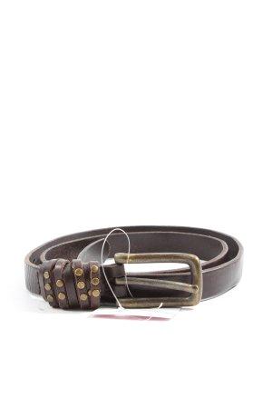 Liebeskind Cintura di pelle marrone stile casual