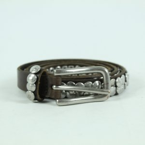 Liebeskind Berlin Leather Belt black brown leather