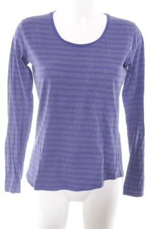 Liebeskind Longsleeve dark violet flecked casual look