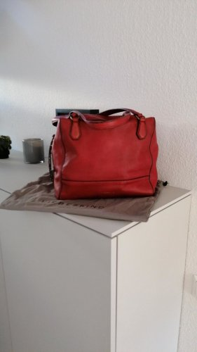 Liebeskind Handbag red leather