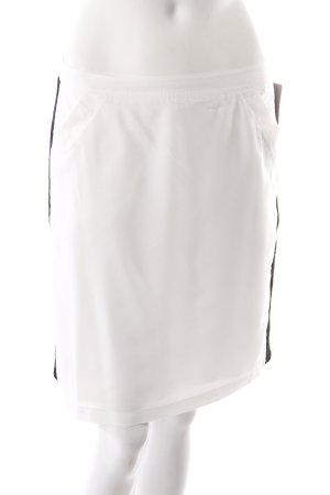 Liebeskind miniskirt white with mesh details