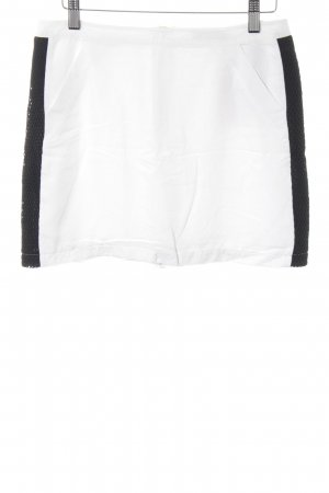 Liebeskind Miniskirt natural white-black street-fashion look