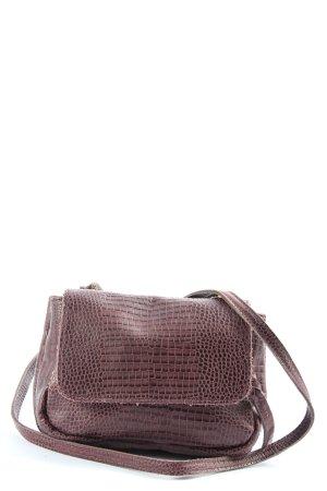 Liebeskind Mini sac brun motif animal style décontracté