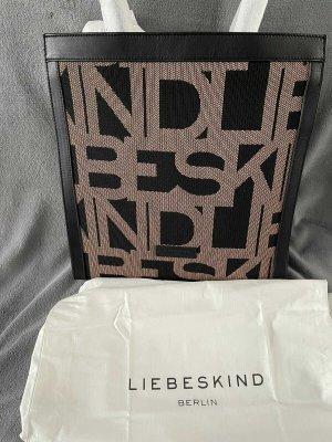 Liebeskind Berlin Shopper brown-black mixture fibre