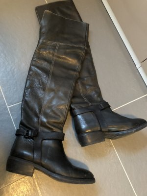 Liebeskind Overknees black leather