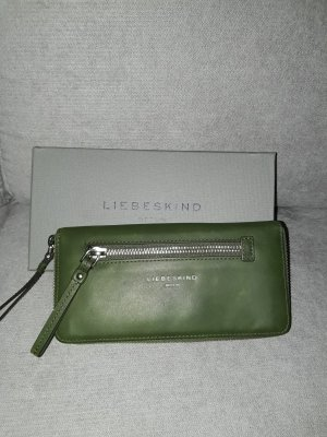 Liebeskind Berlin Wallet forest green leather