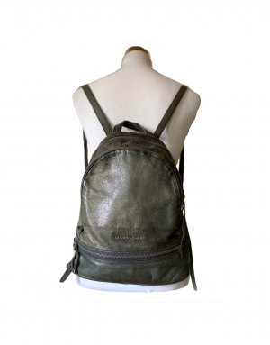 Liebeskind Pouch Bag sage green-anthracite leather