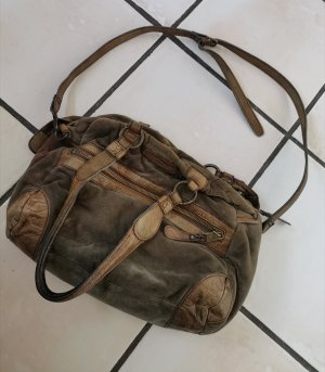 Liebeskind Samt-Lederhandtasche