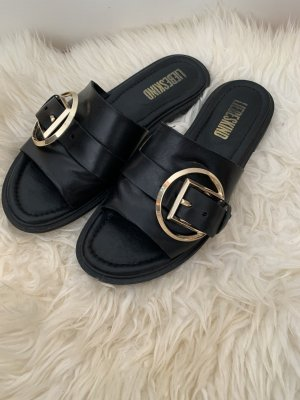 Liebeskind Roman Sandals black-gold-colored