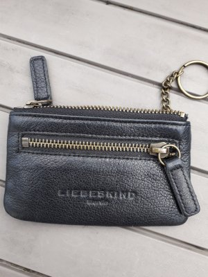 Liebeskind Key Chain black leather