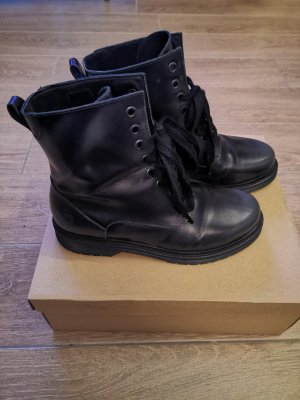 Liebeskind Botas con cordones negro-gris antracita