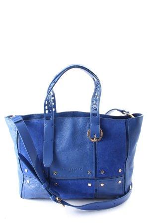 Liebeskind Bolsa de hombro azul look casual