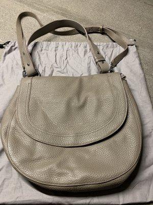 Liebeskind Shoulder Bag silver-colored-grey brown leather